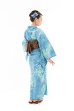 Beautiful kimono woman Royalty Free Stock Photos