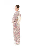 Beautiful kimono woman Stock Photo
