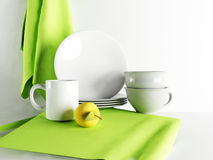Beautiful kitchen composition Royalty Free Stock Photos