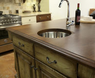 Beautiful kitchen Royalty Free Stock Image
