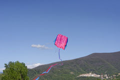 Beautiful kite in the sky Royalty Free Stock Photo