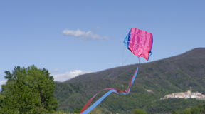 Beautiful kite in the sky Royalty Free Stock Images