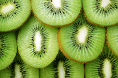 Beautiful kiwi fruit slices background Royalty Free Stock Photography
