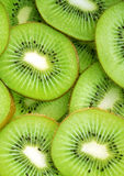 Beautiful kiwi fruit slices background Royalty Free Stock Images