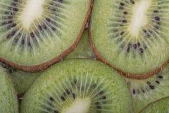 Beautiful kiwi fruit slices Stock Images