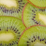 Beautiful kiwi fruit slices Royalty Free Stock Images