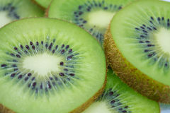 Beautiful kiwi fruit slices Stock Photos