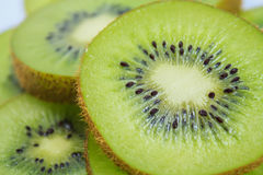 Beautiful kiwi fruit slices Stock Image