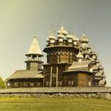 Beautiful Kizhi island on north of Russia Royalty Free Stock Photos