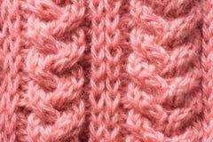 Beautiful knitted pattern Stock Photography
