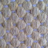 Beautiful knitted woolen vector fabric texture. Stock Photo