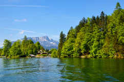 Beautiful Konigsee lake Royalty Free Stock Photo