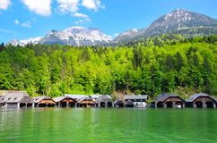 Beautiful Konigsee lake Stock Image