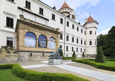 Beautiful Konopiste castle in Czech Republic. Stock Photography