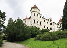 Beautiful Konopiste castle in Czech Republic. Royalty Free Stock Photos
