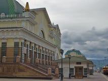 Beautiful Krasnoyarsk Royalty Free Stock Photo