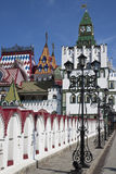Beautiful kremlin in Izmailovo Stock Photography