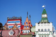 Beautiful kremlin in Izmailovo Royalty Free Stock Photography