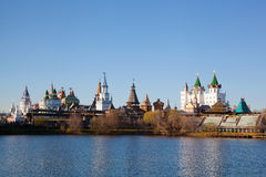Beautiful kremlin in Izmailovo Royalty Free Stock Photos