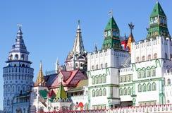 Beautiful kremlin in Izmailovo Stock Photo
