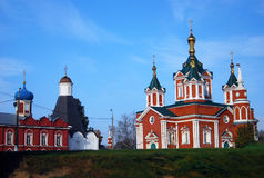 Beautiful Kremlin in Kolomna, Russia Stock Photos