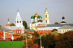 Beautiful Kremlin in Kolomna, Russia Stock Images