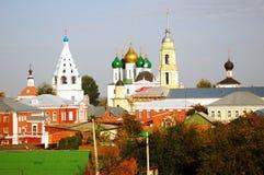 Beautiful Kremlin in Kolomna, Russia Stock Images