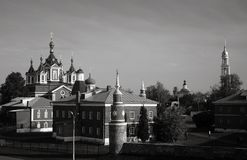 Beautiful Kremlin in Kolomna, Russia Stock Photography