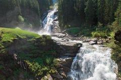 Beautiful Krimml Falls Royalty Free Stock Images