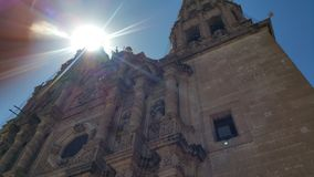 The Cathedral of Chihuahua royalty free stock photography
