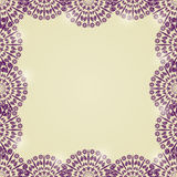 Beautiful Lace Mandala Frame Royalty Free Stock Image