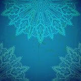 Beautiful lace ornament. Stock Photo