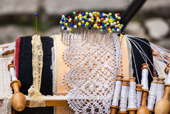 Lacemaking Royalty Free Stock Image