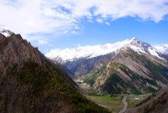 Beautiful Ladakh mountain landscape  Royalty Free Stock Photo