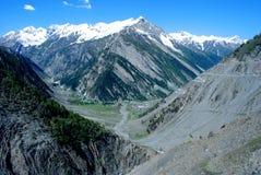 Beautiful Ladakh Mountain Scenic Stock Photos