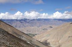 Beautiful Ladakh range, Indus group and Zanskar range, ladakh Stock Images