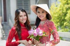 Beautiful ladies Stock Images