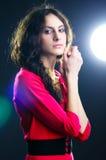 Beautiful lady. Portrait of the beautiful lady Stock Image