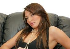 Beautiful lady Stock Image