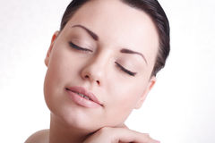Beautiful lady with healthy skin Stock Photo