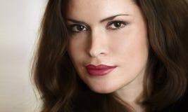 Beautiful lady portrait Stock Image