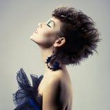Beautiful lady punk Stock Photography