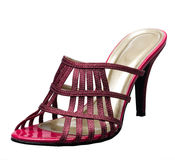Beautiful lady high heel shoe isolated  Royalty Free Stock Photography
