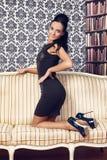 Beautiful Lady Stock Photography