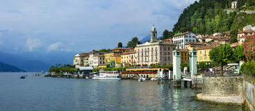 Beautiful Lago di Como Royalty Free Stock Photos