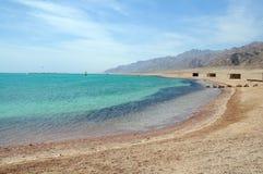 Beautiful lagoon. Landscape of the beach on beautiful lagoon Stock Photos