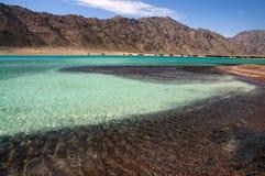 Beautiful lagoon. Landscape of the beach on beautiful lagoon Stock Photo