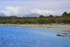 Beautiful lagoon Stock Images