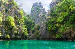 Beautiful lagoon Royalty Free Stock Photos