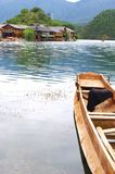Beautiful Lake. China Lijiang, the beautiful lake Royalty Free Stock Photography